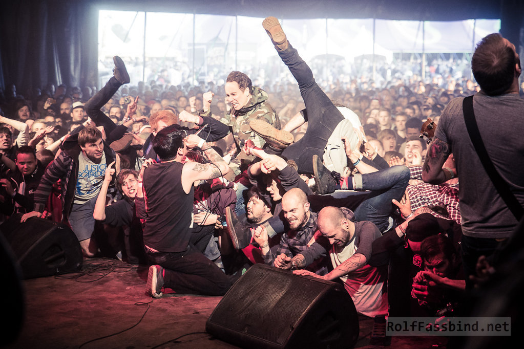 Modern Life Is War live at Groezrock 2014
