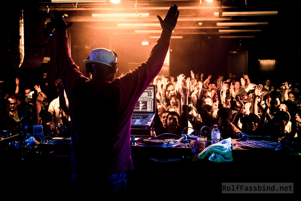 Grandmaster Flash live at Galvanik Zug Switzerland